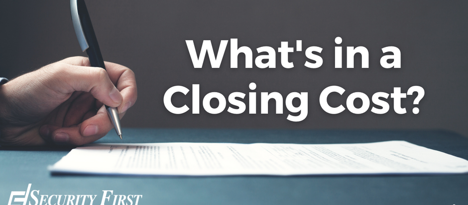 What's in a Closing Cost?