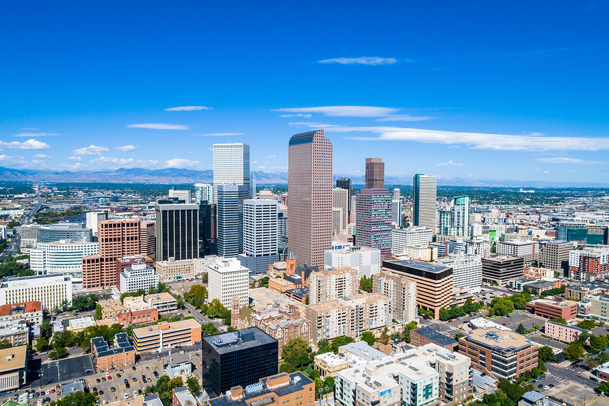 Denver Colorado City Skyline During The Day - Security First Financial