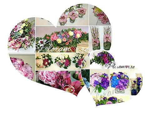 Aranjamente florale nunta, flori nunta, superbe, minunate, buchete unicat, flori naturale