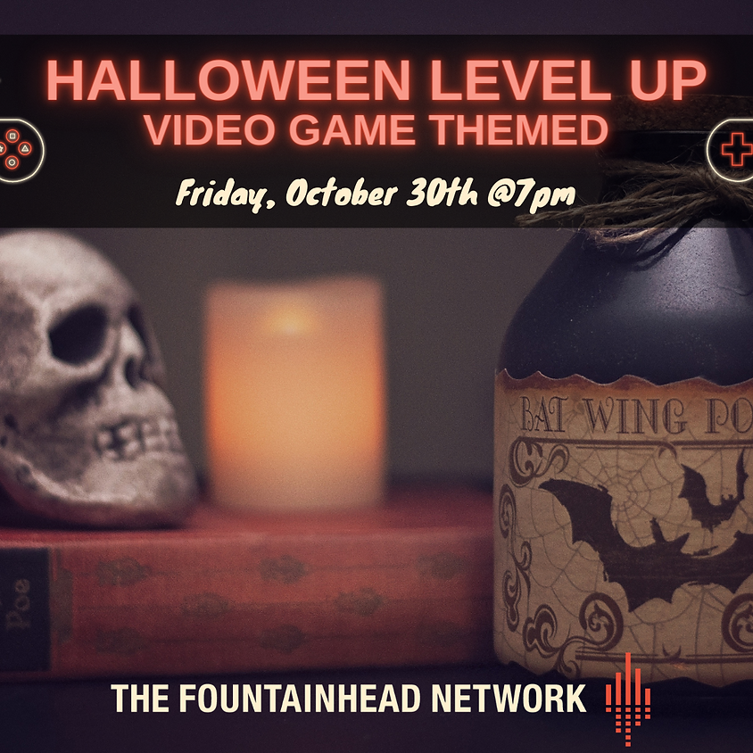 {CANCELLED} TFN Halloween LEVEL UP – Video Game Themed