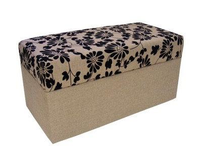Kufer pufa Sawana Kwiaty