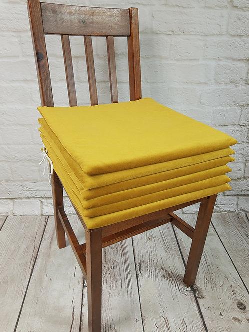 Poduszka na krzesło Velvet plusz