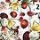 Thumbnail: ZESTAW PODUSZEK NA MEBLE OGRODOWE wzory
