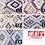 Thumbnail: Tkanina obiciowa tapicerska TIPI etno