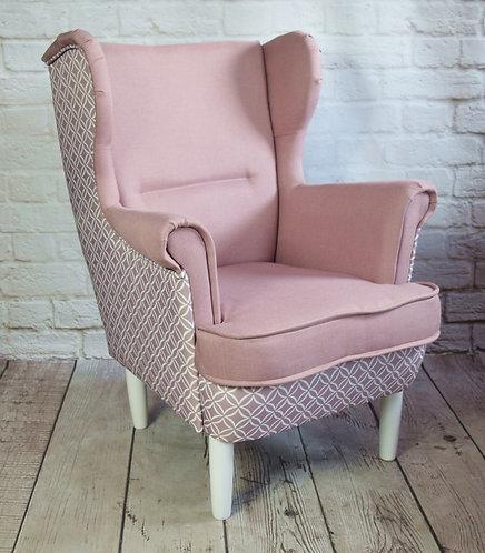 Fotel uszak dla dziecka DWUKOLOR