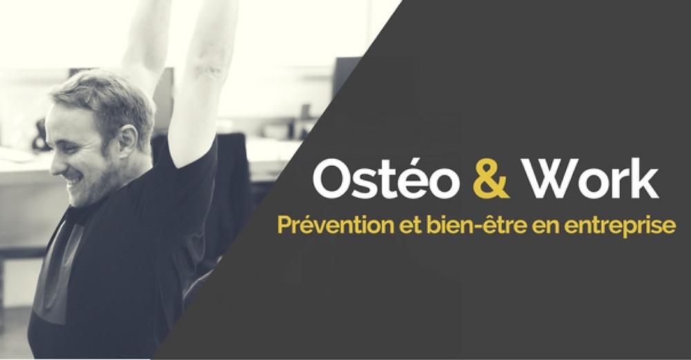 ostéopathie en entreprise - Lyon - Ostéopathe Lyon