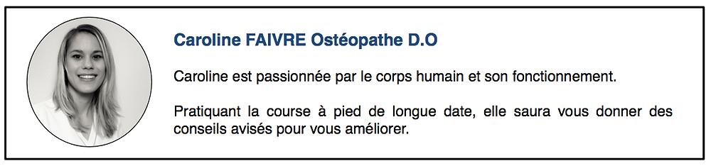 Caroline FAIVRE Ostéopathe Dardilly