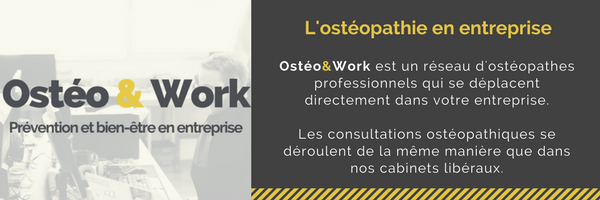 ostéopathie en entreprise - tarif ostéopathie en entreprise