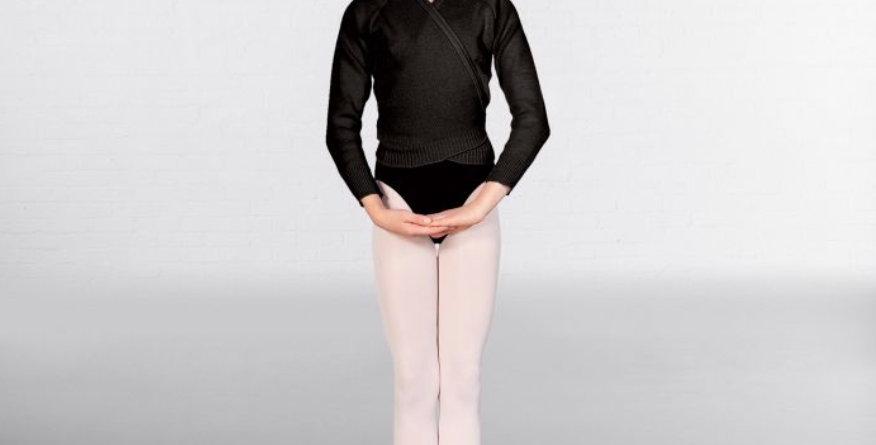 Black Ballet Cardigan