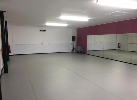 New Dance Floor in Studio 1!