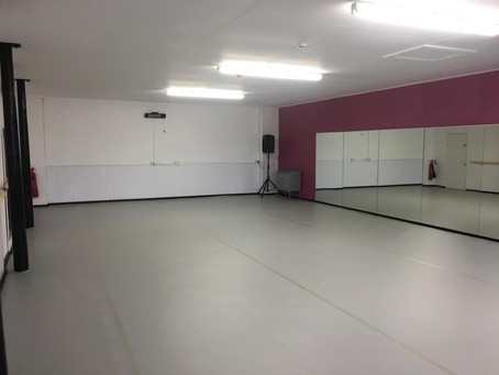 New Dance Floor in Studio 1!