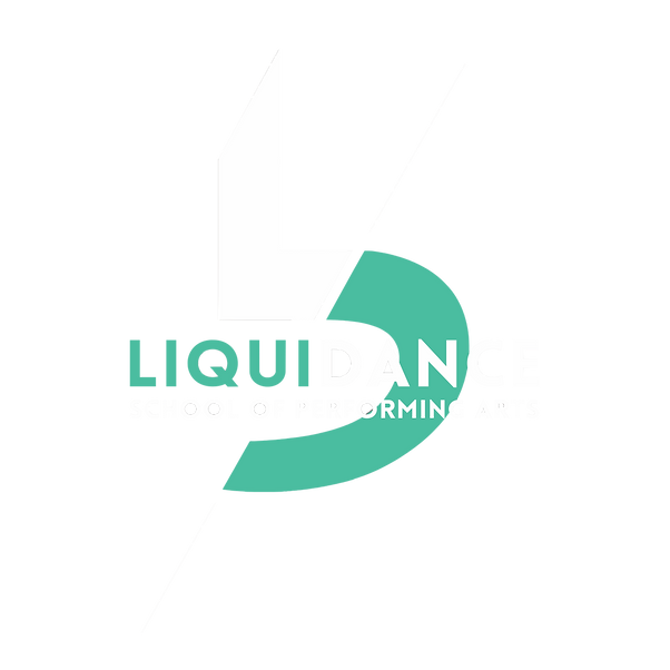 LiquiDance New Logo WHITE:GREEN Design (
