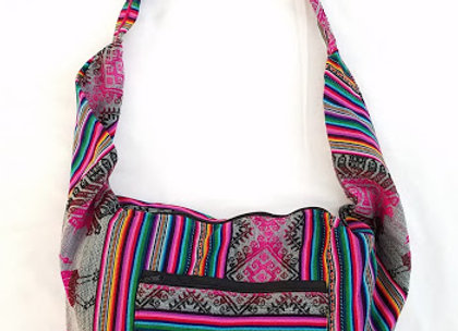 large boho purse