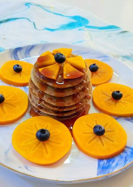 Pumpkin-Pie Spice Pancakes