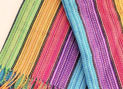 rainbow scarf/shawl