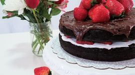 decadent, chocolate cake!