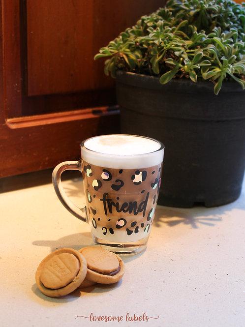 Personalised Leopard Mug