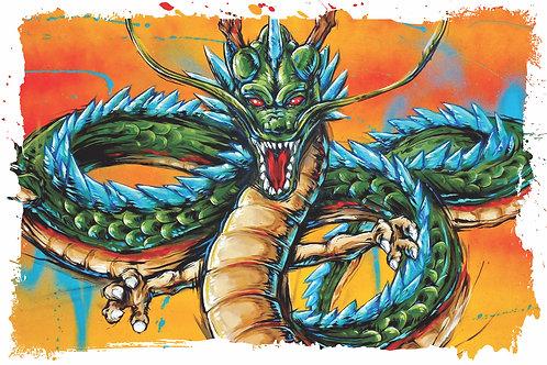 Shenlong (Shenron) print