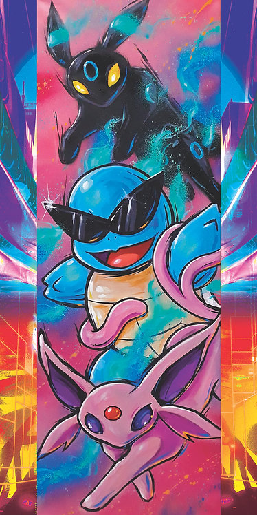 Squirtle Squad print