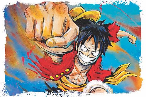 Luffy print
