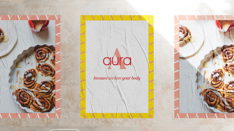 Personal project: brand Aura