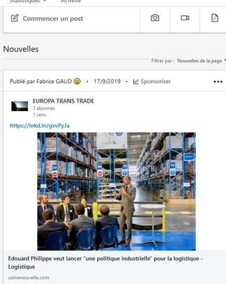 EuropeTransTrade Linkedin