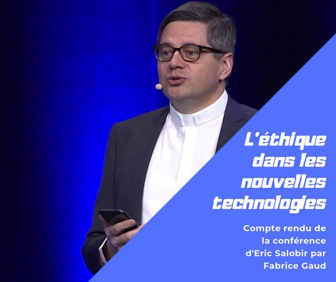 """""""Éthique dans les nouvelles technologies"""" Compte rendu"""