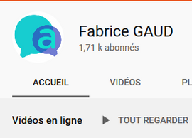 Gestion chaine YouTube