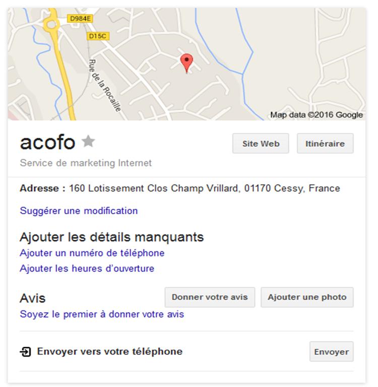 acofo recherche google