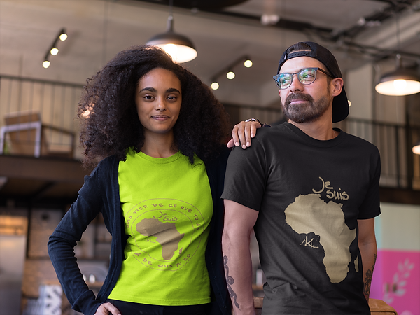 african-american-girl-with-a-hipster-friend-wearing-t-shirts-mockup-at-a-startup-a20423.pn