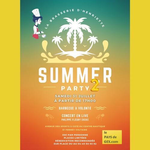 Summer Party 2 / Brasserie d'Henriette