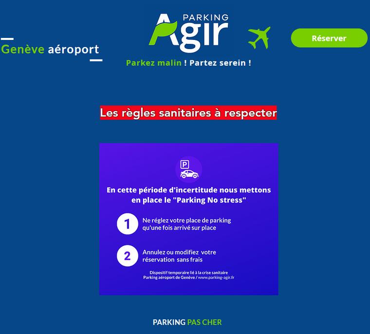 Site de Parking-Agir