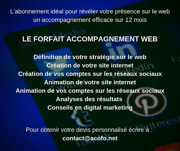 Accopagnement sur le web 2
