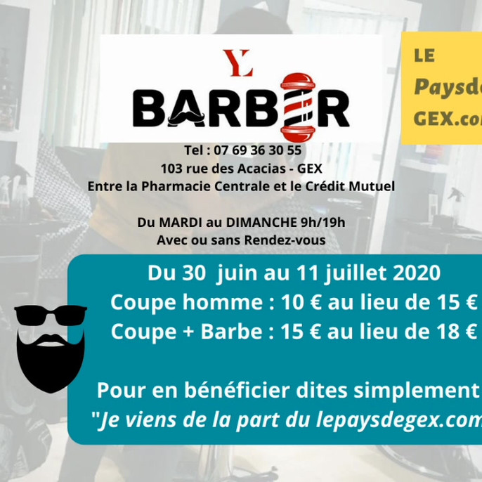 LY Barber Shop Gex