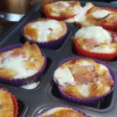 Breakfast Sandwich Muffins
