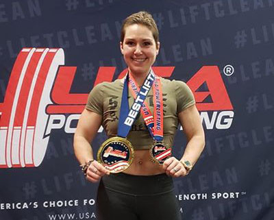 Powerlifter Gets Back in the Game After Breast Cancer Treatment