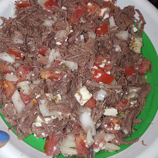 Salpicon: Mexican Pulled Beef