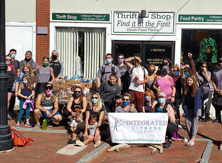 Food Drive and Ruck Walk a Success!