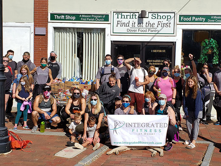 Join Our 2nd Annual Food Drive & Ruck Walk on April 24