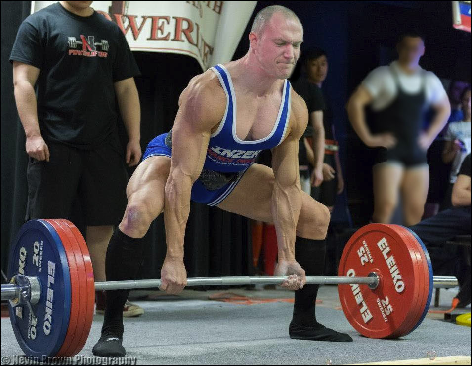 Royce Claflin, Personal Trainer at Integrated Fitness of Dover at a powerlifting meet