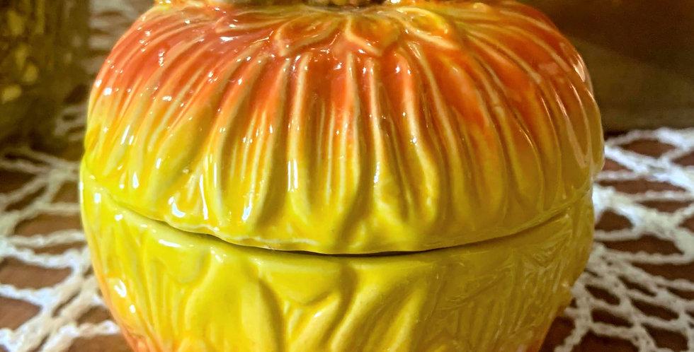 Ceramic Pumpkin with Lid