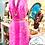 Thumbnail: Neon Pink & White Sleeveless Dress