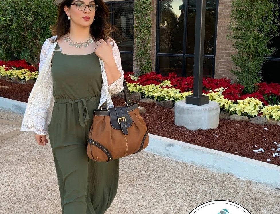 Sleeveless Jumpsuit Olive Green (Size XXL)