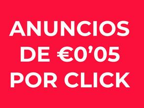 Cómo mis anuncios de FB generan clicks por €0'05.