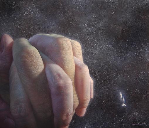 航道之外  53x45.5cm    (Oil on canvas 2017).