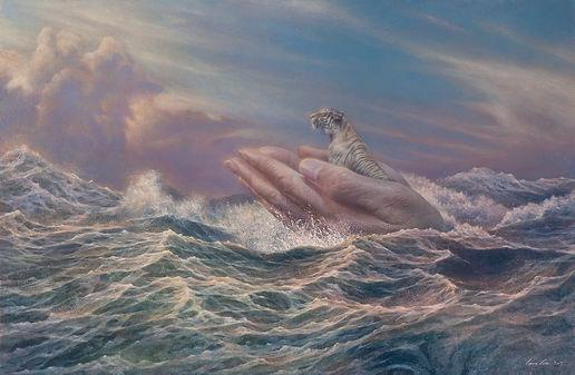 破浪者Ⅱ-啟程  100x65cm    (Oil on canvas 2017