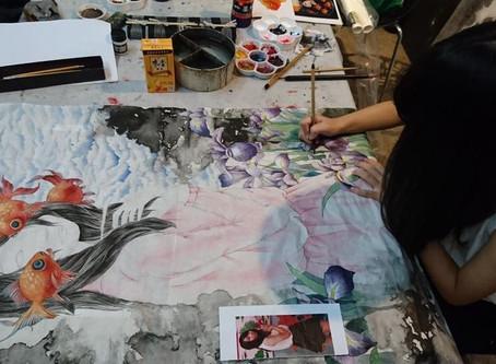 狅賀🎊藝林畫室再度榮獲全國美展第一名