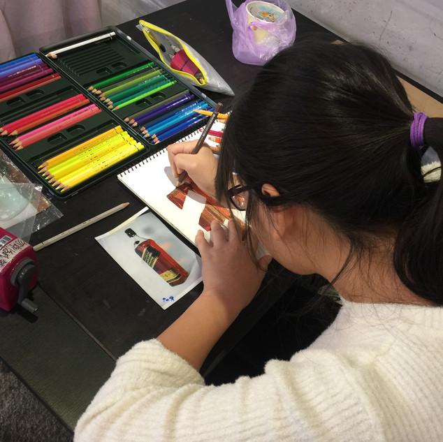 色鉛筆課程