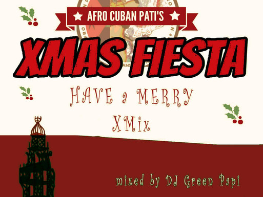 DJ Green Papi's Christmas present—free Cuban party-mixes download (Descarga gratis de Navidad).