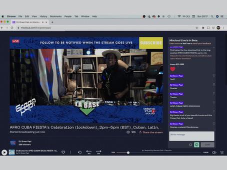 (Español) Los DJs y la Audiencia Deben Transmitir En Vivo y Disfrutar el Programa sin Interrupción.